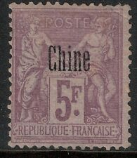 French Offices in China 1894-1900 SC 12A LH CV $75