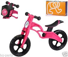 "Pop Bike Children Kids Learning Balance Bike 12"" EN71 & CE Certified Safety PINK"
