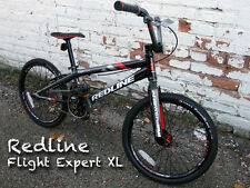 New Redline Flight Expert XL BMX Racing Bike Black/Gray
