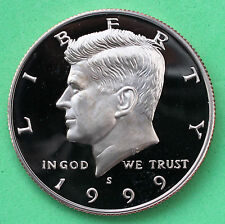 1999 S Proof Kennedy Half Dollar Coin 50 Cent JFK from Proof Set