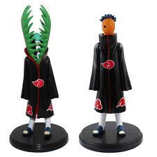 2x NARUTO Akatsuki Uchiha Madara & Zetsu PVC Figure Set