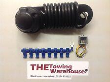 Solo 7 Pin Enganche De Remolque Eléctrico Kit de Cableado Con Avisador acustico remolques