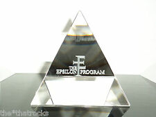 $$$ GRAND THEFT AUTO V EPSILON PROGRAM GLASS PAPERWEIGHT $$$ ROCKSTAR GAMES $$$