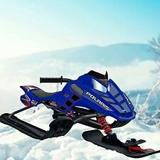 Polaris Snow Moto Outer Edge Snow Sled Snowmobile Ski Winter Sport Kids new
