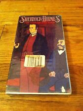 Sherlock Holmes The Sign Of The Four VHS Video NEW Animated Cartoon Childrens