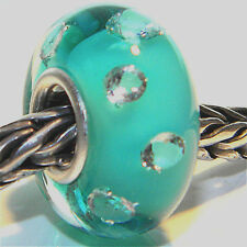 MURANO GLASS BEAD AUTHENTIC 925 STERLING SILVER OOAK EUROPEAN CHARM BEADS 1225