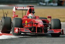 Giancarlo Fisichella Hand Signed Scuderia Ferrari Photo 12x8 3.
