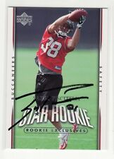 SABBY PISCITELLI AUTOGRAPHED TAMPA BAY BUCCANNERS OREGON STATE UNIVERSITY CARD