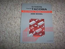 2006 Toyota Tacoma Pickup Truck Electrical Wiring Diagram Manual PreRunner 4WD