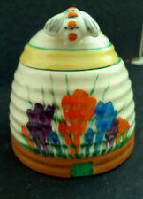 "Clarice Cliff  ""autumn crocus"" Large Beehive Honey Pot"