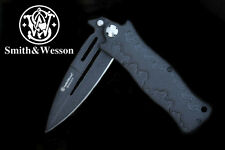 Knife Messer SMITH&WESSON BULLSEYE- Survival Outdor 5Cr13Mov LINER-LOCK