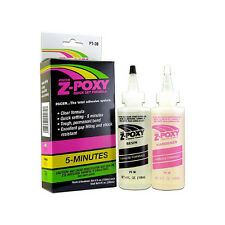 BRAND NEW PACER 8oz  Z-POXY 5 FIVE MIN MINUTE EPOXY RESIN AND HARDENER COMBO!!