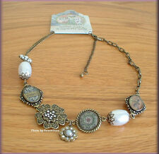 BLESSED VINTAGE NECKLACE BY KELLY RAE ROBERTS FASHION JEWELRY FREE U. S. SHIP