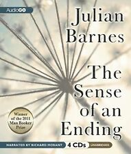 The Sense of an Ending 2012 by Barnes, Julian 1609987985 Ex-library