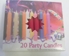 "Lot of 20 Chime Spell Candles: Dark Red, Mini 4"" Wicca, Altar, Ritual"
