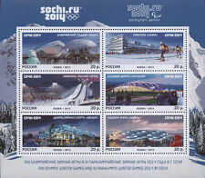 2013. Russia. Olympic Games. Sochi-2014. Olympic Sports Venues. MNH