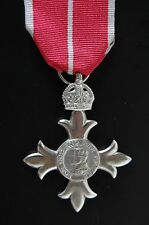 STERLING SILVER  MBE, MEMBER OF THE BRITISH EMPIRE
