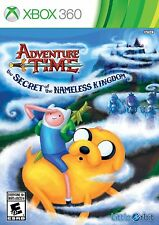 NEW Adventure Time: The Secret of the Nameless Kingdom (Microsoft Xbox 360 2014)