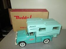 Vintage Buddy L Camper Missing Boat in Nice Box 14""