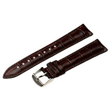 GENUINE CROCO GRAIN LEATHER INTERCHANGEABLE Watch Band Strap