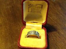Vintage Givenchy Design Solid Silver  925 Ring in Box