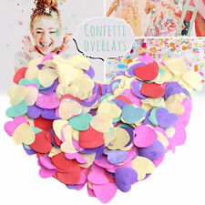 1000 Tissue Paper Rainbow Colors Circles Confetti DIY Wedding Party Decoration