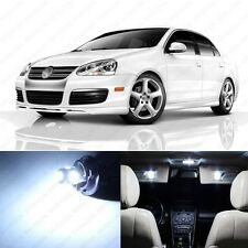 9 x Xenon White LED Interior Light Package For 2005 - 2010 VW Jetta MK5