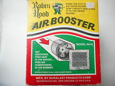 6'' Air duct heat Booster add up to 240 CFM  Heating & Cooling Robin Hood U.S.A.