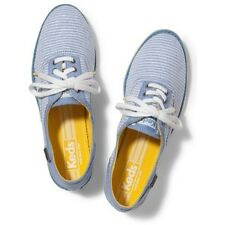 NEW ARRIVAL! KEDS BOYFRIEND CHAMBRAY BLUE STRIPES OXFORDS SHOES 6.5 / 37 SALE