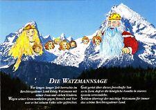 Die Watzmannsage , Ansichtskarte