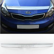 Chrome Bonnet Guard Cover Garnish Molding K878 for KIA 2012 - 2016 RIO / Pride