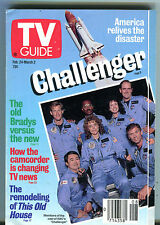 TV Guide Feb. 24-March 2 1990 Cast of Challenger This Old House EX 011516jhe