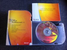 Microsoft Office Professional 2007, retail, tedesco