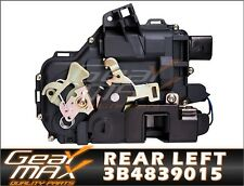 New Rear Left Door Lock Mechanism Actuator VW Bora Golf MK4 Passat - 3B4839015