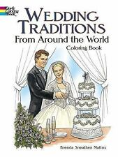 Dover Fashion Coloring Book: Wedding Traditions from Around the World...