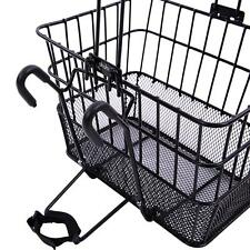 Ohuhu Front Wire Mesh Bottom Basket Bicycle/Bike Lift Off Steel Net Bracket