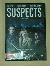 Suspects Series 1 R4 DVD 2 Disc SEALED British Crime Fay Ripley 250 minutes