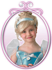 Cinderella Wig Disney Girls Kids Fairytale Princess Fancy Dress Costume 52738