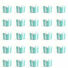 24 TIFFANY BLUE Christmas Advent Calendar Decoration Gift Boxes inc Ribbon!
