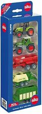 New Siku (6286) Agricultural Farm Set 1:87 Scale Farm Tractors and Trailers Set