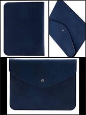 New & Tag R&A  Monogram Ipad Leather Case (BLUE) RRP $100   GIFT