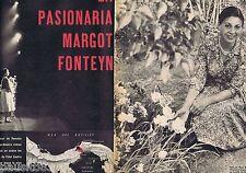 COUPURE DE PRESSE CLIPPING 1959 Margot Fonteyn  (8 pages)
