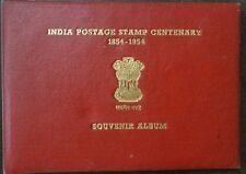India 1954 Stamp centenary SOUVENIR ALBUM reproducing all stamps of the century