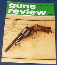 "GUNS REVIEW MAGAZINE FEBRUARY 1980 - THE ""COLT 1851"" REVOLVING SHOTGUN"