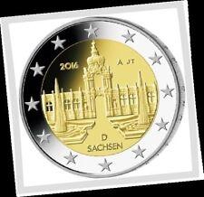 2 EURO *** Allemagne 2016 Duitsland *** Dresdner Zwinger - Sachsen !!!