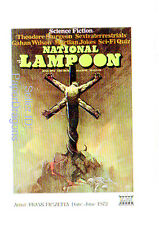 NATIONAL LAMPOON - Embossed Chase Card SC4 - Frank Frazetta