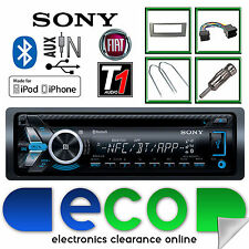 Fiat Grande Punto Sony MEX-N5100 CD MP3 Usb Bluetooth Iphone estéreo de coche Kit Gris