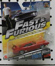 DODGE BOYS 6 RED CHARGER DAYTONA MOVIE SCAT PACK 1969 29 MATTEL FAST AND FURIOUS