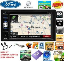 FORD MERCURY GPS NAVIGATION SYSTEM CD DVD USB AUX BLUETOOTH BT CAR Radio Stereo