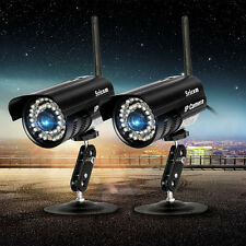 2X Wifi Wireless Bullet IP Camera Outdoor CCTV Home Security P2P IR Network Cam